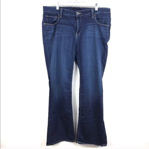 Lucky Brand Flare plus size jeans 16W